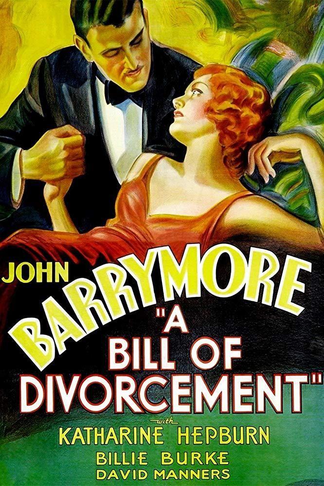 A Bill of Divorcement (1932) John barrymore, Katharine