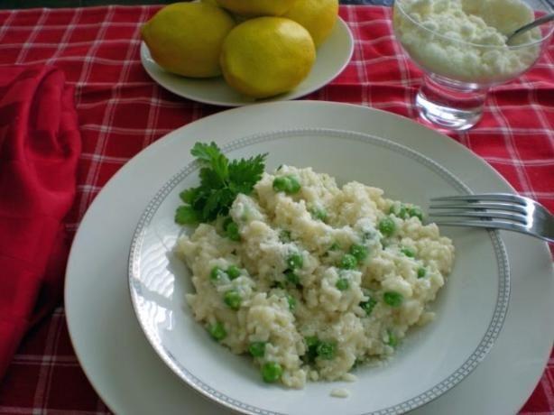 Risi E Bisi, Italian Rice And Peas Recipe — Dishmaps