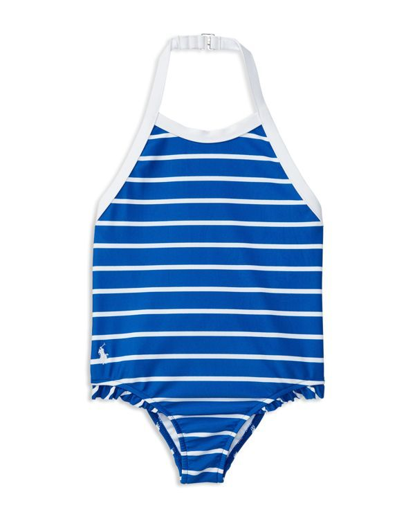 Ralph Lauren Childrenswear Girls' Stripe Swimsuit - Sizes 2-6X