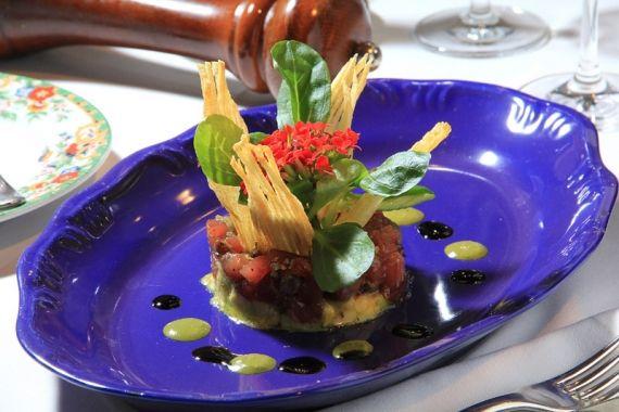 tartar de atum com abacate