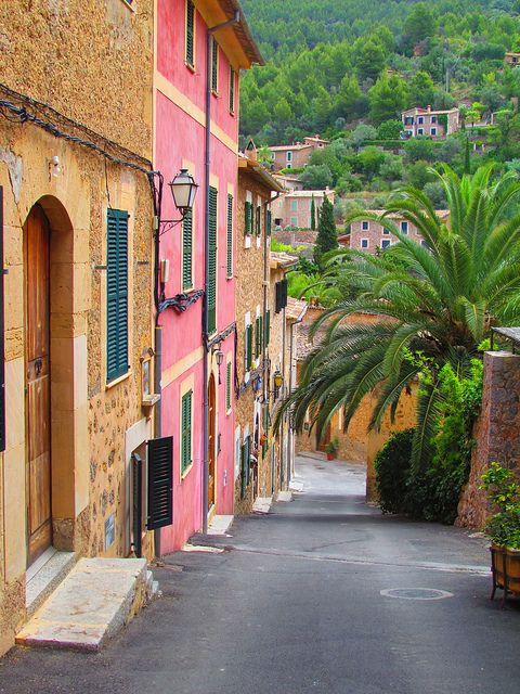 Spain.  Deià, Mallorca, Balearic islands. Photograph by twiga_swalia via Flickr. Photograph taken on June 18th, 2011.