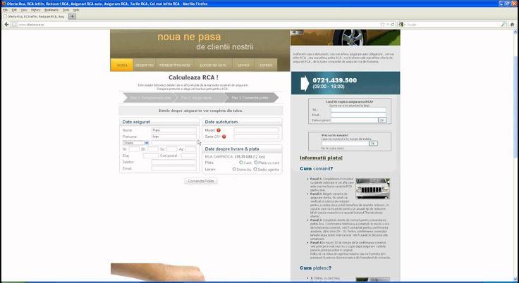 Calculator online de preturi pentru asigurarea auto rca. Preturi in timp de la toate societatile de asigurari de pe piata din Romania.  Reduceri de pana la 40%. http://www.oferta-rca.ro #preturi #asigurare #rca