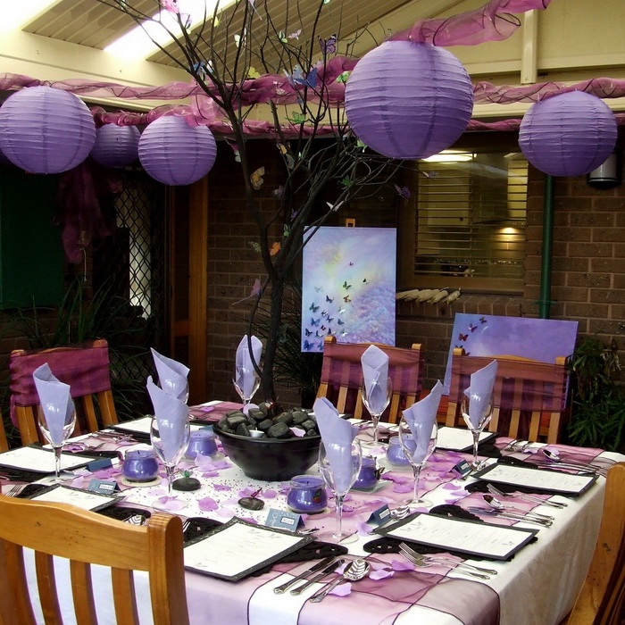 Superb Prom Dinner Party Ideas Part - 14: Decorate For Dinner Party