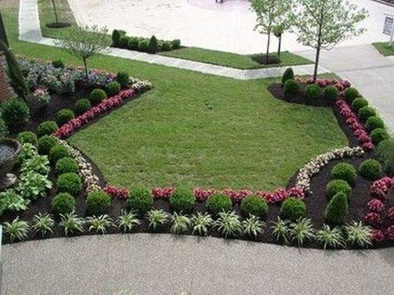 Beau Jardines Para Frentes De Casas Diseño De Jardín Y Paisajismo, Jardines  Colgantes, Jardines Verticales