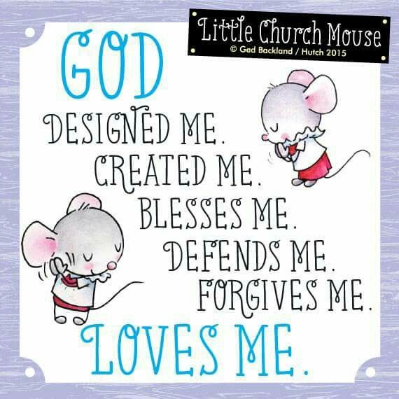 God Designed Me. Created Me. Blesses Me. Defends Me. Forgives Me. Faith  QuotesPoem QuotesInspirational Bible ...
