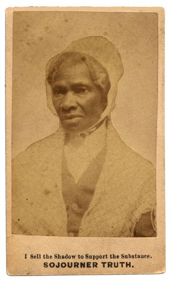 more to sojourner truth than ain't Go here for more about sojourner truth's ain't i a woman speech  then that  little man in black there, he says women can't have as much rights as men, 'cause .