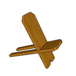 стул со спинкой складной своими руками, стул самодельный, сделать стул для рыбалки.