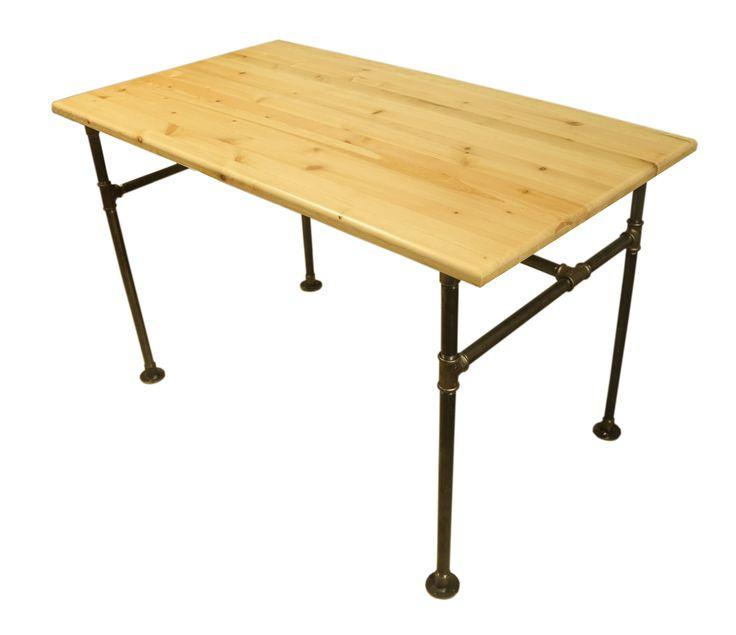 Doğal Ahşap yemek ve Toplantı Masası  Loft Çalışma Masası www.mozilya.com