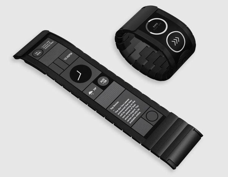 Wove Smartwatch's Flexible Display Bends Around Your Wrist – NBC News