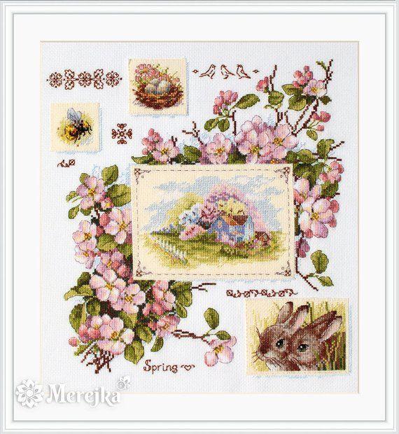 Spring Mood Merejka Cross Stitch Kit