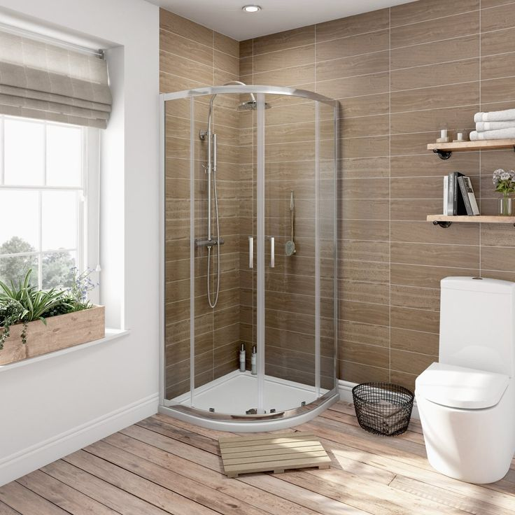 The V6 Quadrant Shower Enclosure is a high quality, great value and space-saving solution. It has 6 mm glass mounted on a high quality anodised frame, a smooth sliding door and a cushioned magnetic door closure. Designed for use with an 800mm quadrant shower tray, this enclosure even comes with a 15 year guarantee.
