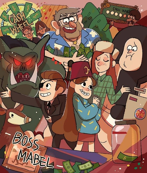 13 - Boss Mabel Constant — Gravity Falls [S01 Episode 01~05]