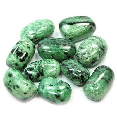 Tumbled Zoisite - Zoisite helps you get out & enjoy nature, bringing with  it a