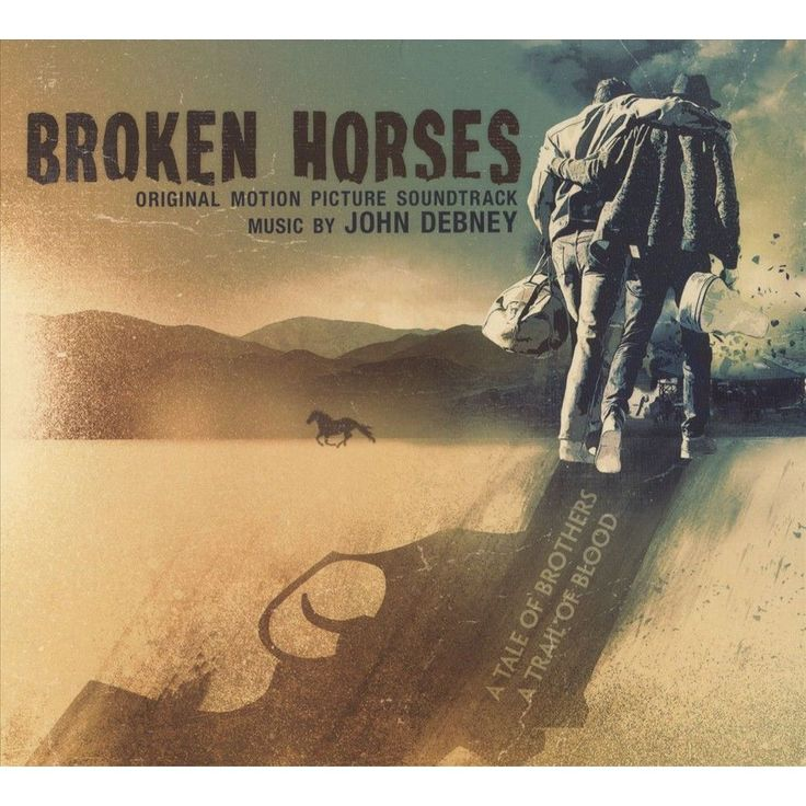 John Debney - Broken Horses (Original Score) (CD)