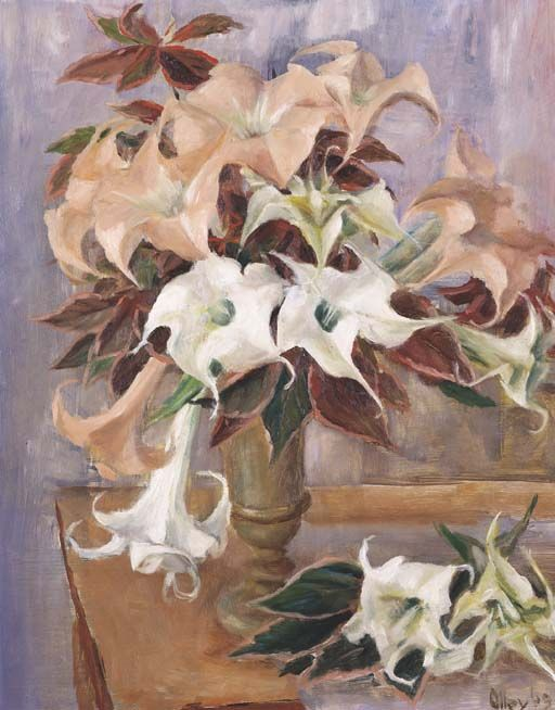 Floral Still Life - Tiger Lilies, Margret OLLEY