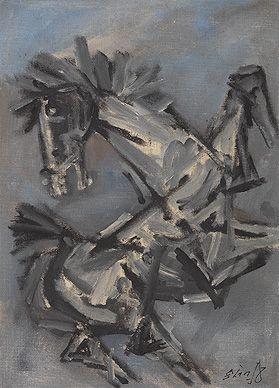 Untitled-Maqbool Fida Husain
