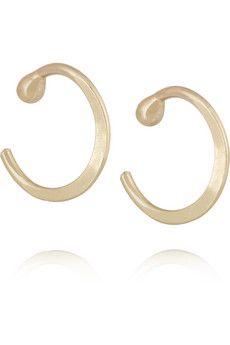 Melissa Joy Manning 14-karat gold earrings | NET-A-PORTER
