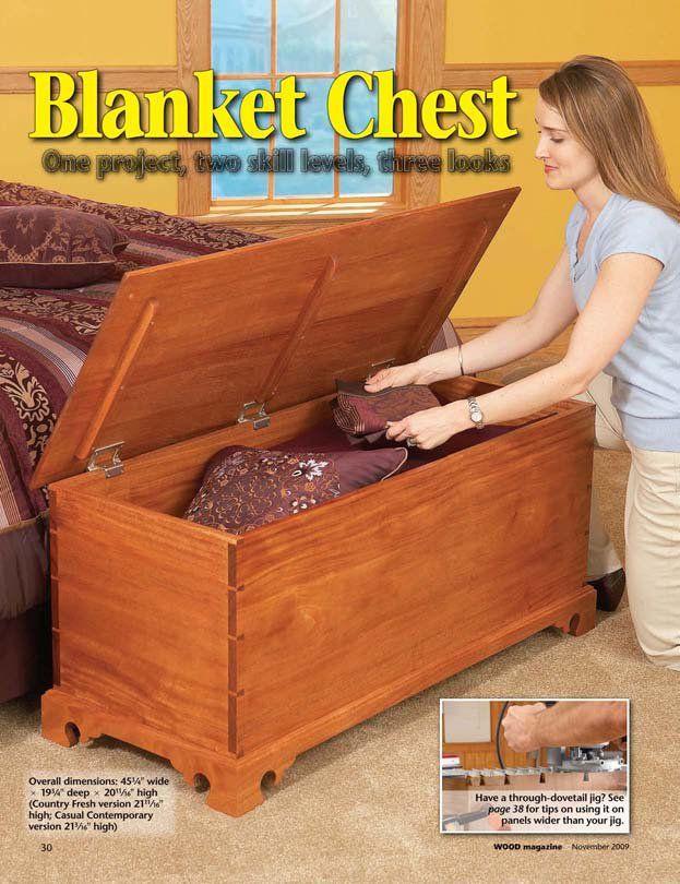 Blanket Chest DIY plan