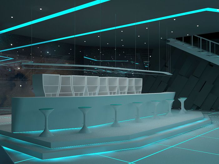 08 fantasy tron night club. Black Bedroom Furniture Sets. Home Design Ideas