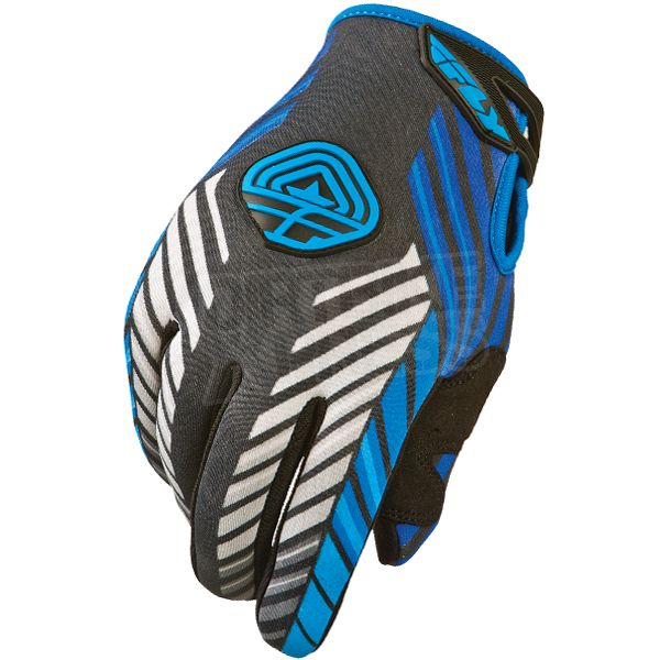 2015 Fly Racing 907 Cold Weather Gloves - Blue