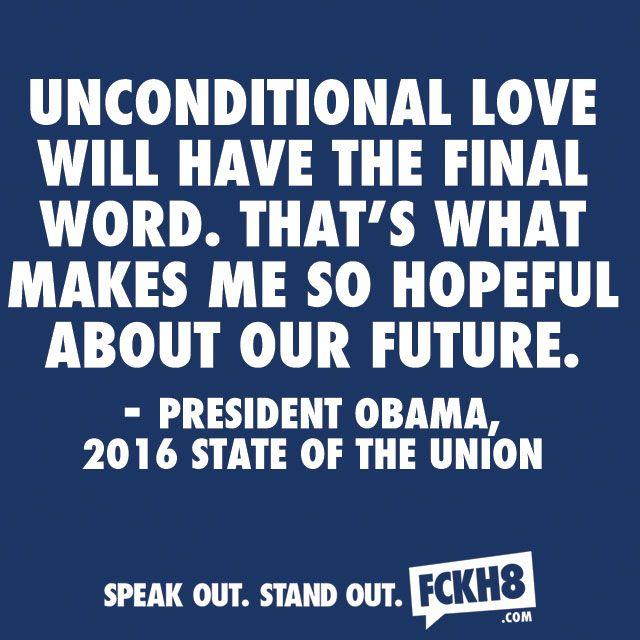 #FCKH8 #LGBT #LOVE #LOVEWINS #SAMELOVE #GAY #SOTU
