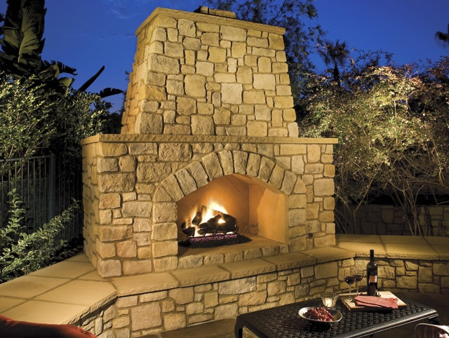 23 best images about outdoor fireplaces on pinterest for Eldorado outdoor fireplace