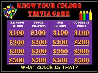kindergarten color game know your colors game from teachlearn on teachersnotebookcom - Kindergarten Color Games