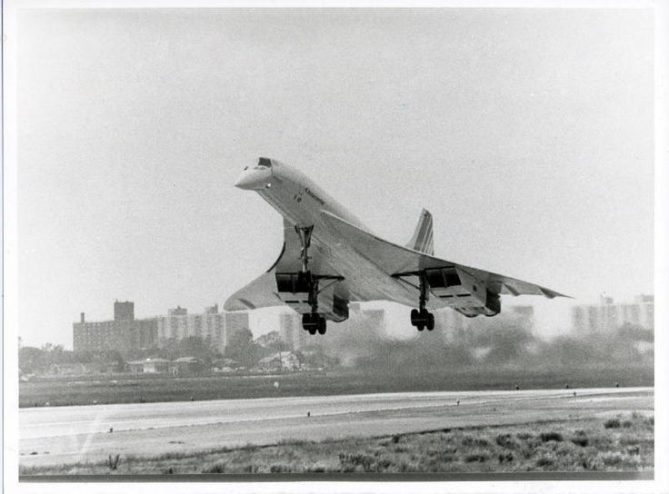 Image result for concorde first landing at jfk