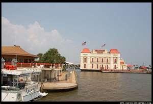 Riverboat gambling vacations