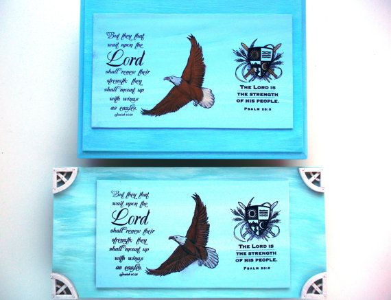 Strength Verse Plaque.  But they that wait upon the by WordofGod, $18.00