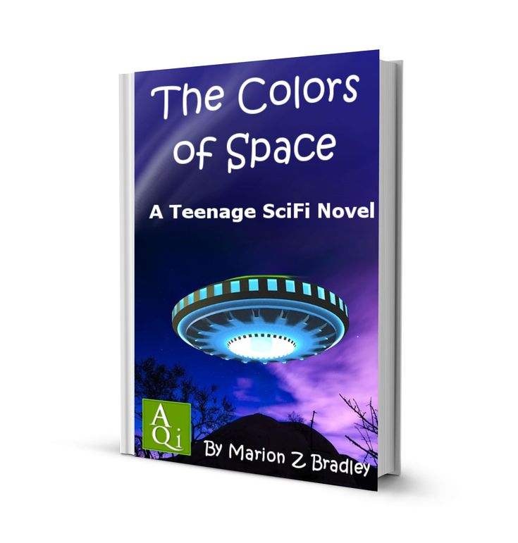 The Colors of Space, by Marion Z Bradley: Teenage: eBook