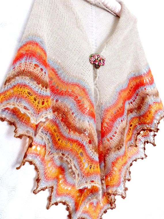 Holden Shawl. Ready To Ship Free Shipping. Hand от ShawlOlga