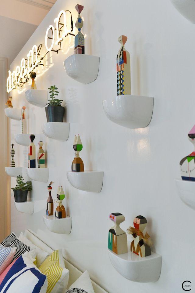 Vitra Design Kwartier Den Haag Studio van t Wout bedroom corniches wooden dolls Eames