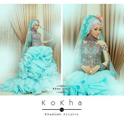 my fave gown.. kokha by khadija azzahra, young designer from indonesia