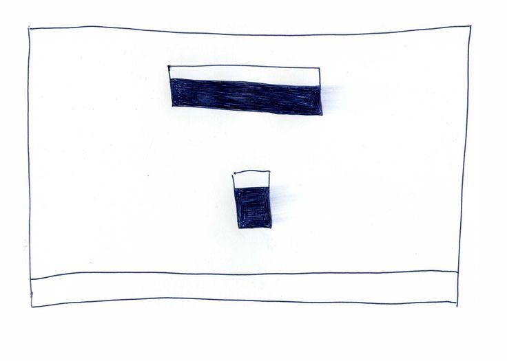 á á á á á á á á á á Certain holes left unfilled ballpoint pen on card 21x15cm Mick Frangou 2013