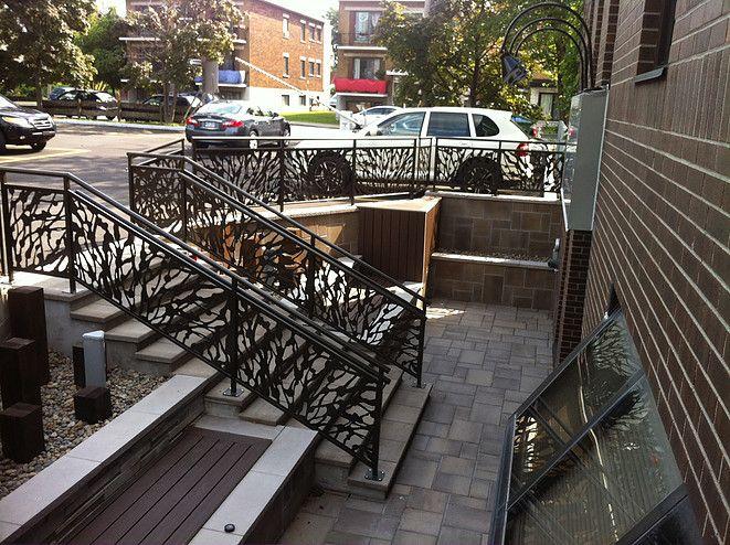 58 best escalier images on Pinterest Banisters, Interior stairs - fabriquer escalier exterieur bois
