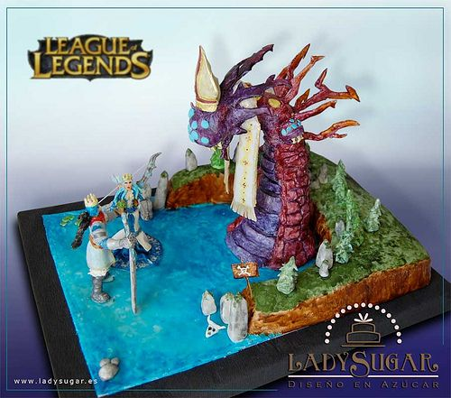 league of legends wedding | League of Legends cake