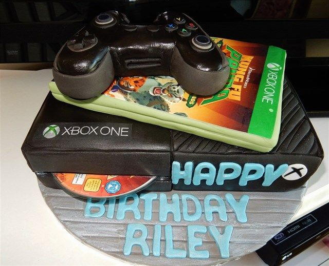 The 25 best Xbox cake ideas on Pinterest Xbox party food Ps4