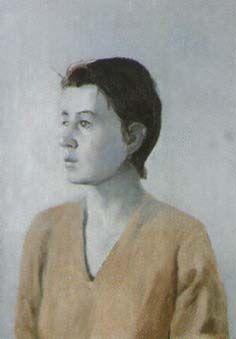 "Cecilia Edefalk ""Echo"" 1992 (part of the triptych) oil on canvas, 60 x 42 cm."
