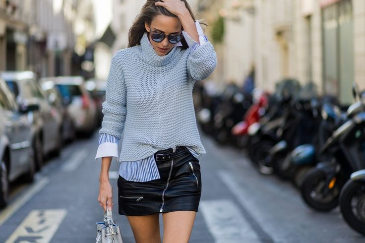Get cozy when you trade your typical top for a turtleneck. Take it to the next level if you decide to do th...
