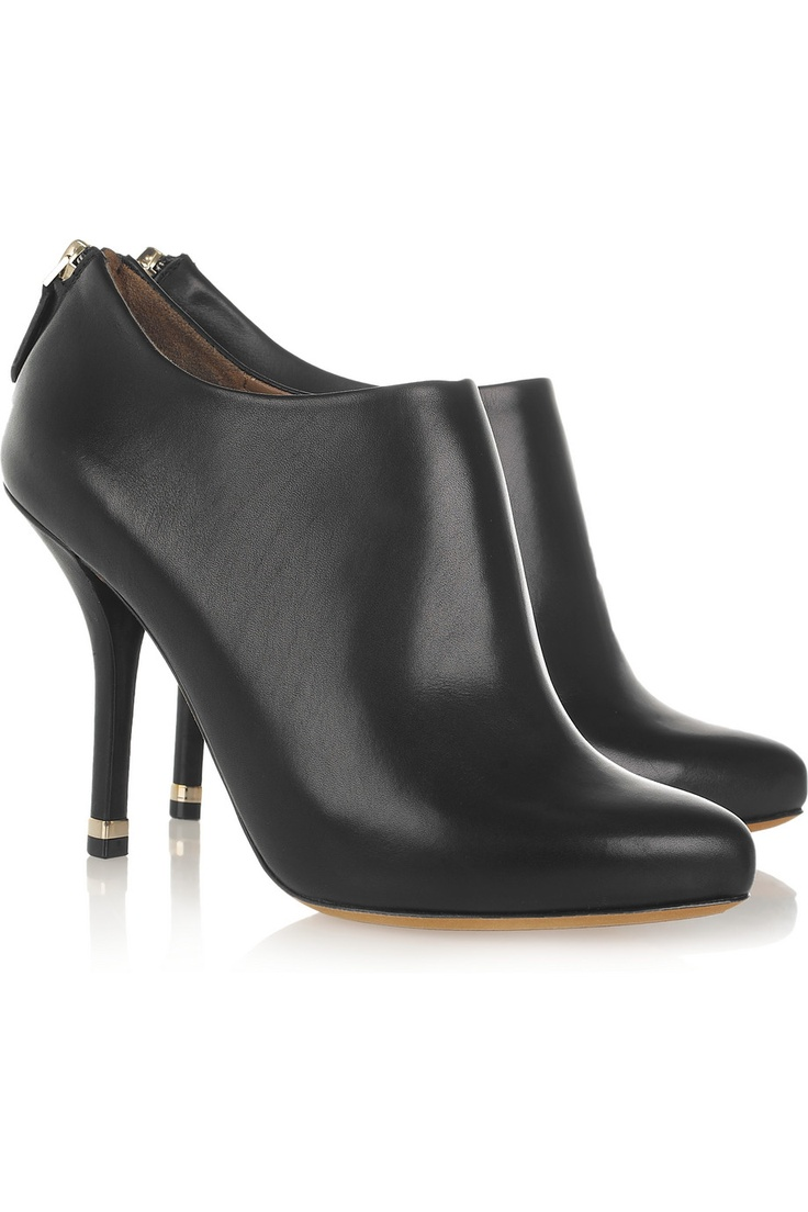 low cut leather ankle boots by givenchy fabulous fashion