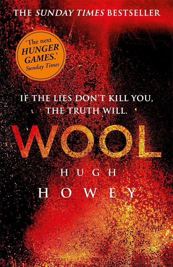 Wool by Hugh Howey. In a ruined and hostile landscape, in a future few have been unlucky enough to survive, a community exists in a giant underground silo. Inside, men and women live an enclosed life full of rules and regulations, of secrets and lies. To live, you must follow the rules. But some don't. These are the dangerous ones; these are the people who dare to hope and dream, and who infect others with their optimism. Their punishment is simple and deadly. They are allowed outside.