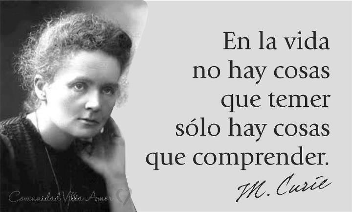 Madam Curie... Premio Nobel dos veces...