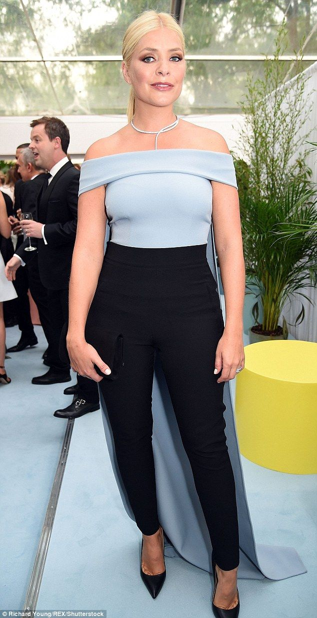 Adding to the family! Holly Willoughby, 35, has revealed she 'loves being pregnant loves h...