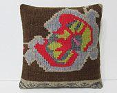 papayawhip decorative pillow beige throw pillow kilim pillow striped pillow sham boho cushion cover antique tapestry boho chic cushion 23472