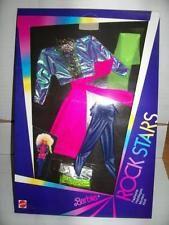 Mattel Barbie ROCKERS ROCK STARS Abito #1165 MIB, 1985