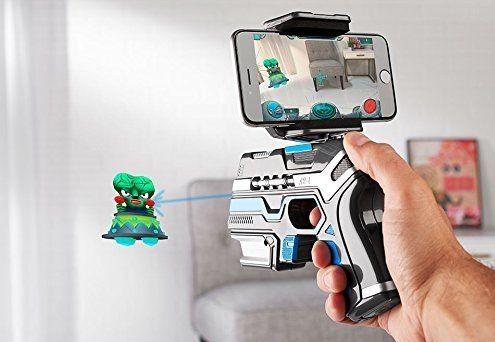 Juego de realidad aumentada Sharper Image Virtual Reality Alien Attack