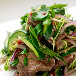 Thai beef salad, Healthy, simple and fast.