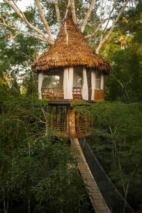 TREEHOUSE LODGE RESORT, IQUITOS, PERU