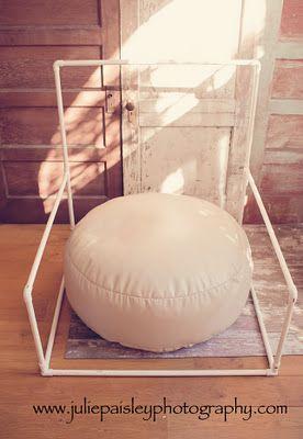 newborn blanket stand... Great idea!